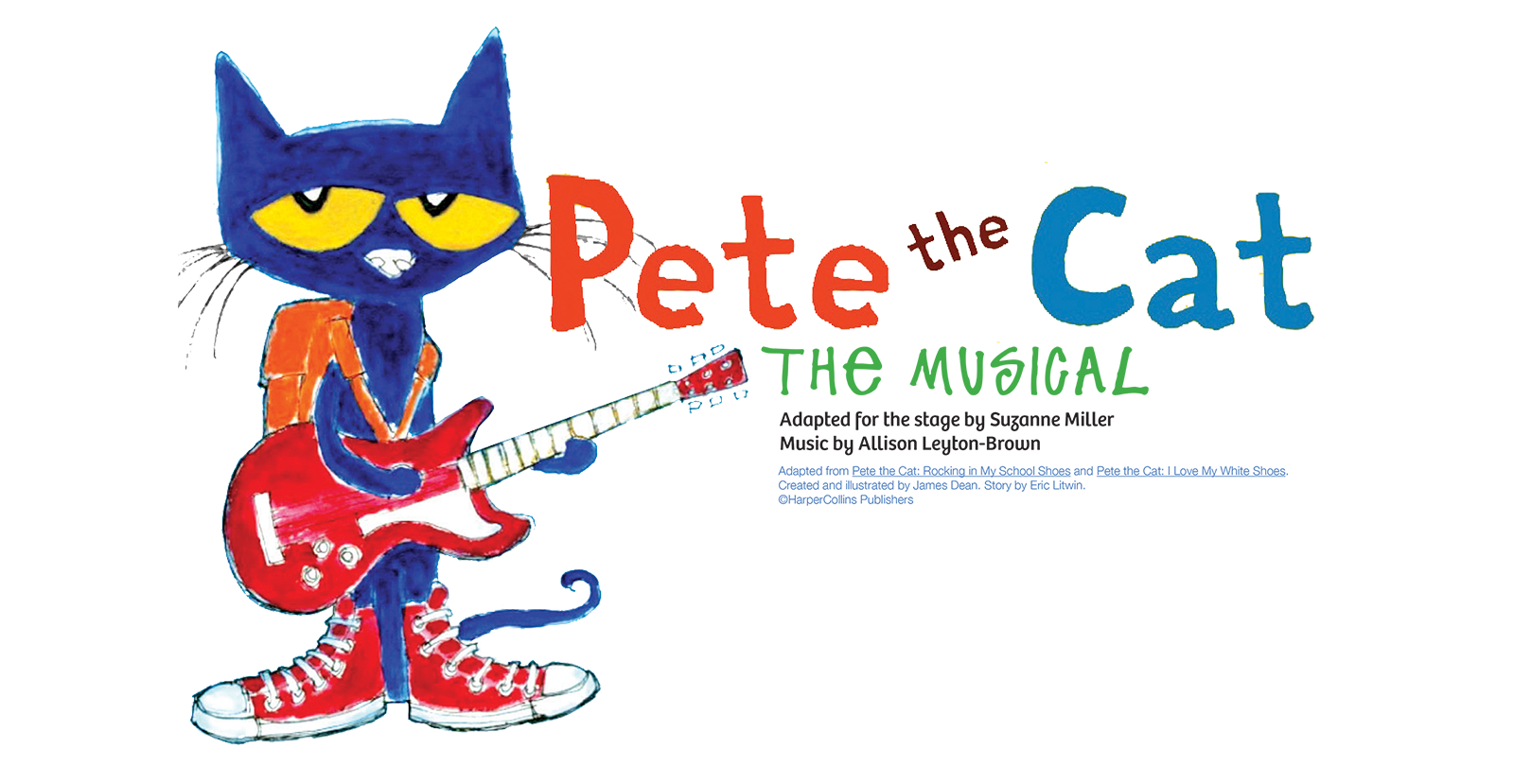 Pete the cat boogie cat clipart graphic library stock Pete The Cat: The Musical | The Rose Theater graphic library stock