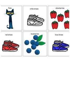 Pete the cat i love my white shoes clipart clipart royalty free stock Pete the Cat I Love My White Shoes Core Vocabulary | pete ... clipart royalty free stock