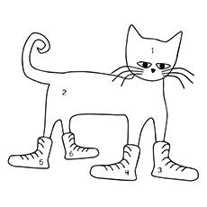 Pete the cat i love my white shoes clipart png black and white 17 Best Pete The Cat: I Love My White Shoes images in 2018 ... png black and white