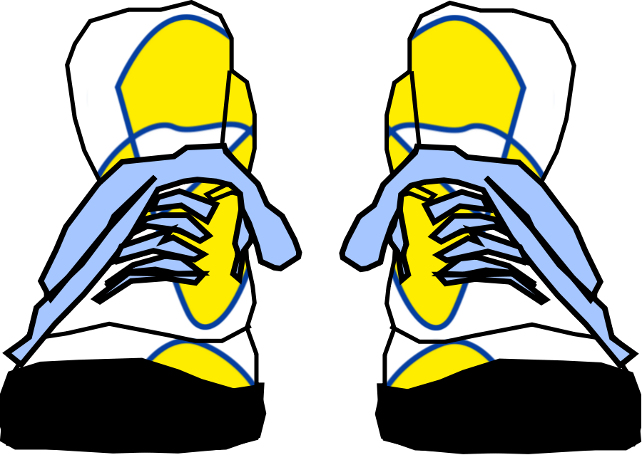 Pete the cat shoes clipart clip free Sneakers Clipart yellow shoe - Free Clipart on Dumielauxepices.net clip free