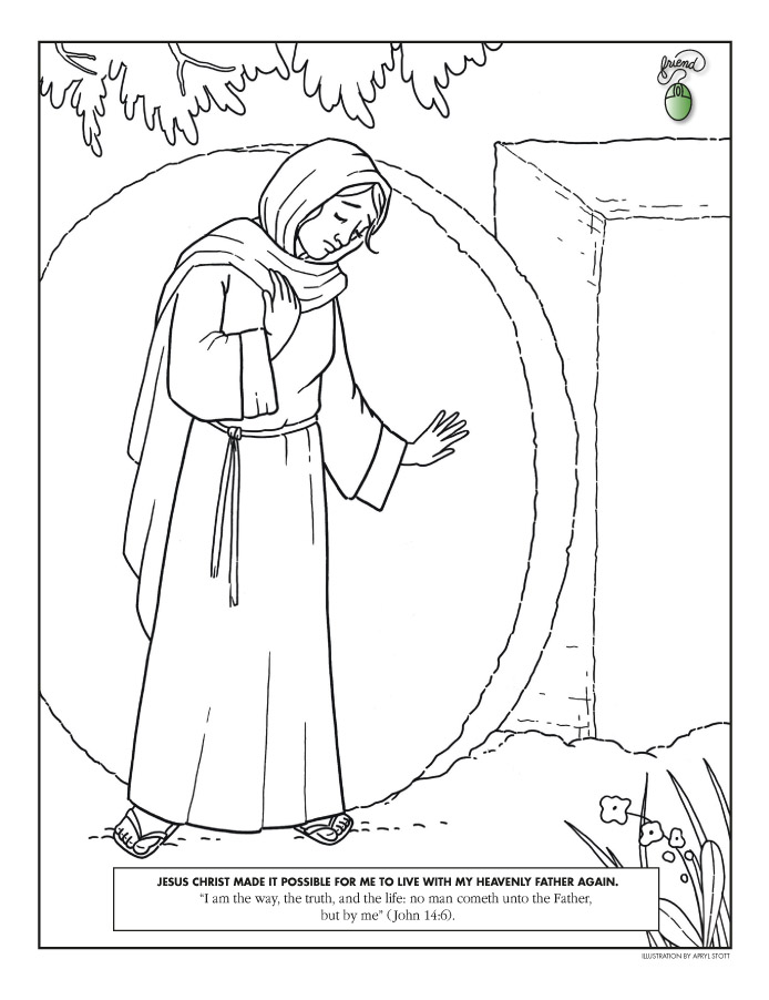 Peter james and john black and white clipart lds clip transparent stock Coloring Page clip transparent stock