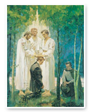 Peter james and john black and white clipart lds vector free library Mormonism: The Angel Moroni Identified vector free library