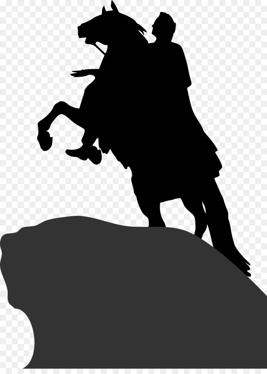 Peter the great clipart vector black and white stock bronze horseman clipart Bronze Horseman Peter the Great ... vector black and white stock