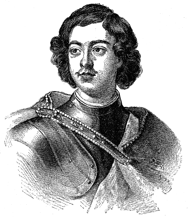Peter the great clipart vector free download Peter the Great lineart - /famous/political/Russia ... vector free download