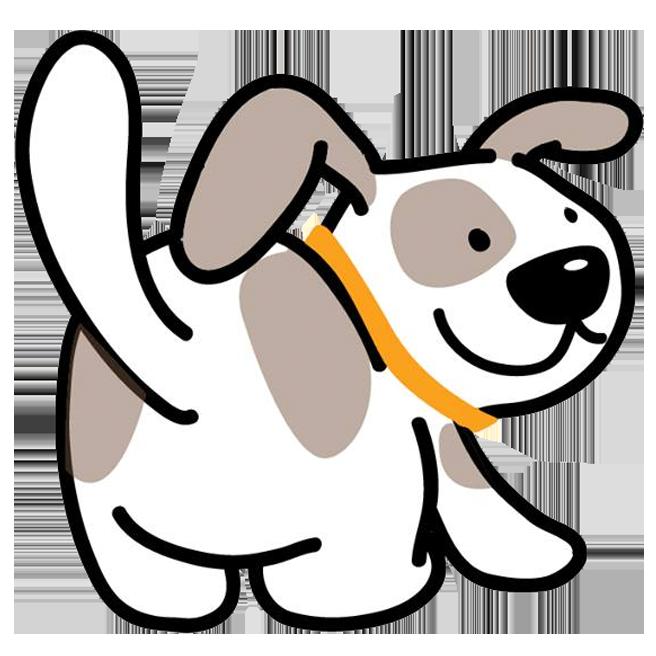 Petting a dog clipart svg royalty free library Bark. Walk. Play. | Orange County Dog Walking & Petting Sitting Services svg royalty free library