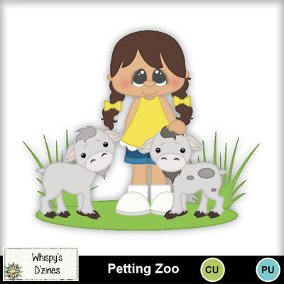 Petting zoo clipart clipart transparent library Clip Art | Petting Zoo Clipart Set-(Whispy) | Animals - Pets ... clipart transparent library