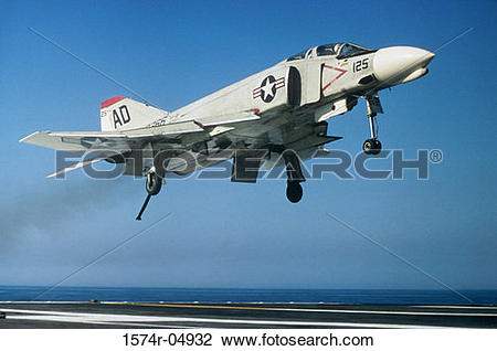 Phantom plane clipart vector free stock Stock Photo of F-4 Phantom jet fighter taking off from an aircraft ... vector free stock