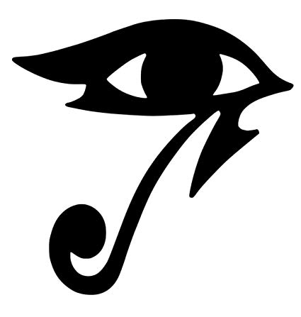 Pharah overwatch clipart picture freeuse stock Amazon.com: Overwatch Pharah Eye Of Horus Sticker Decal ... picture freeuse stock