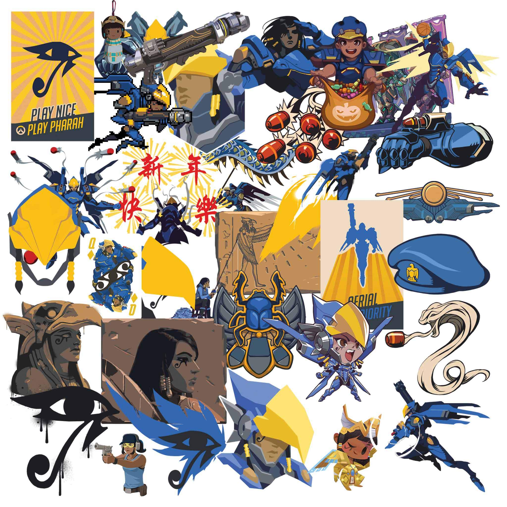 Pharah overwatch clipart clip download Overwatch Pharah Clipart clip download