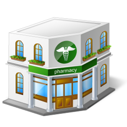 Pharmacy building clipart banner black and white library Free Drugstore Building Cliparts, Download Free Clip Art ... banner black and white library