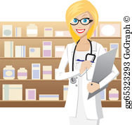 Pharmacy cartoon clipart picture transparent stock Pharmacist Clip Art - Royalty Free - GoGraph picture transparent stock
