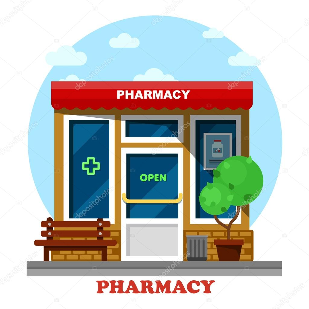 Pharmacy store clipart transparent library Pharmacy clipart retail trade - 70 transparent clip arts ... transparent library
