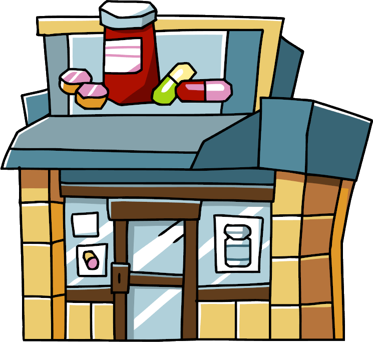 Pharmacy store clipart image transparent download Pharmacy Building Clipart | Free download best Pharmacy ... image transparent download