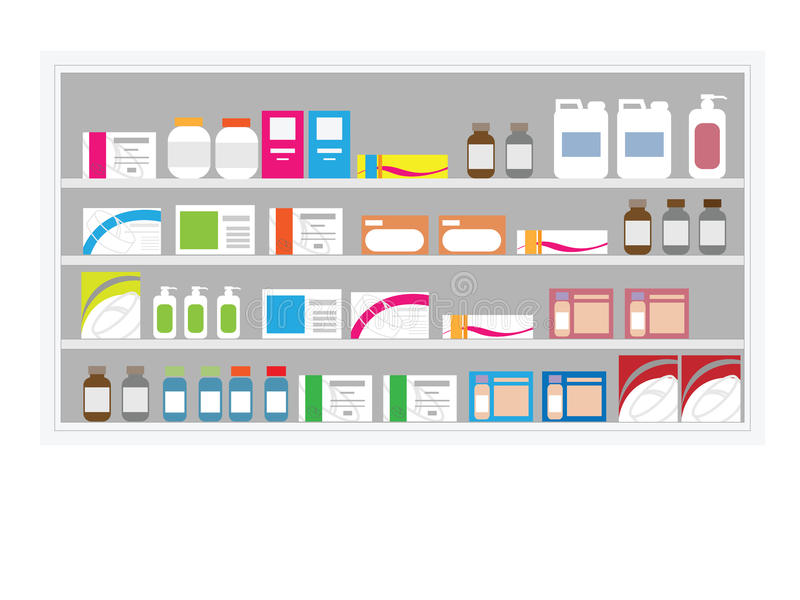 Pharmacy store clipart