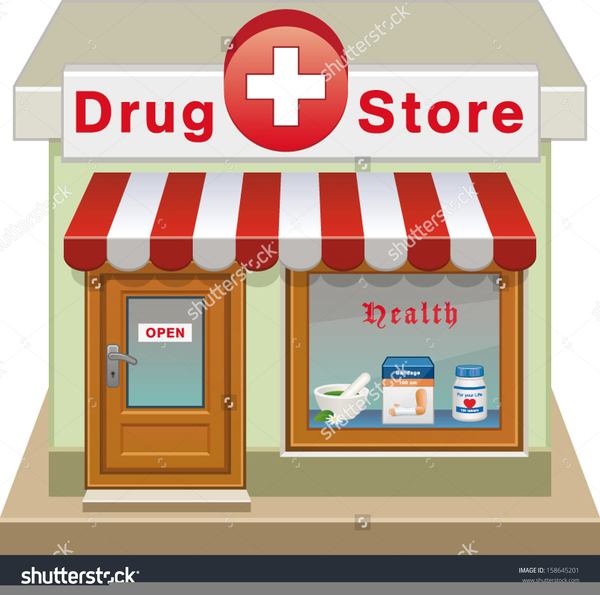 Pharmacy store clipart clip art transparent stock Pharmacy Vector Clipart | Free Images at Clker.com - vector ... clip art transparent stock