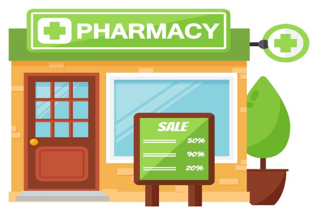 Pharmacy store clipart clipart royalty free stock Are you clinicians or shopkeepers? Why not both? | Chemist+ ... clipart royalty free stock