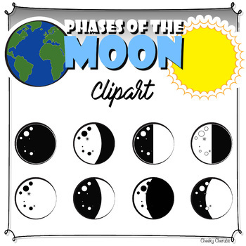 Phases clipart picture freeuse library Phases of the Moon - Clipart picture freeuse library