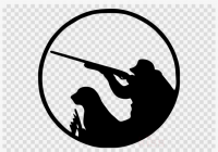 Pheasant hunting clipart banner black and white stock Free Hunting Clipart | www.thelockinmovie.com banner black and white stock