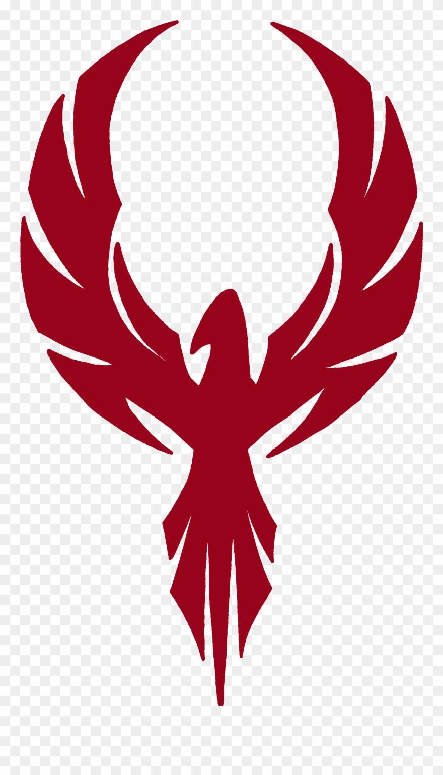 Pheoenix clipart jpg free Tribal Phoenix Rebellion Spray - Black And White Phoenix ... jpg free