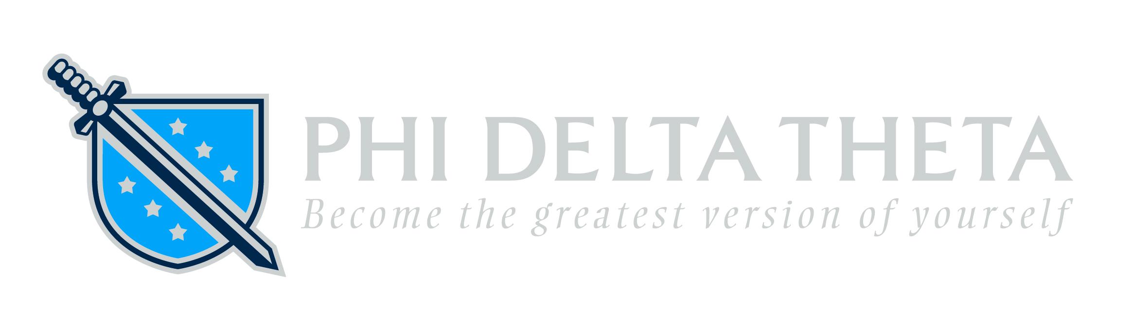 Phi delta theta black & white clipart vector transparent stock Brand Assets - Phi Delta Theta Fraternity vector transparent stock