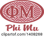 Phi mu clipart banner freeuse Clipart of a College Gamma Phi Beta Sorority Organization Design ... banner freeuse