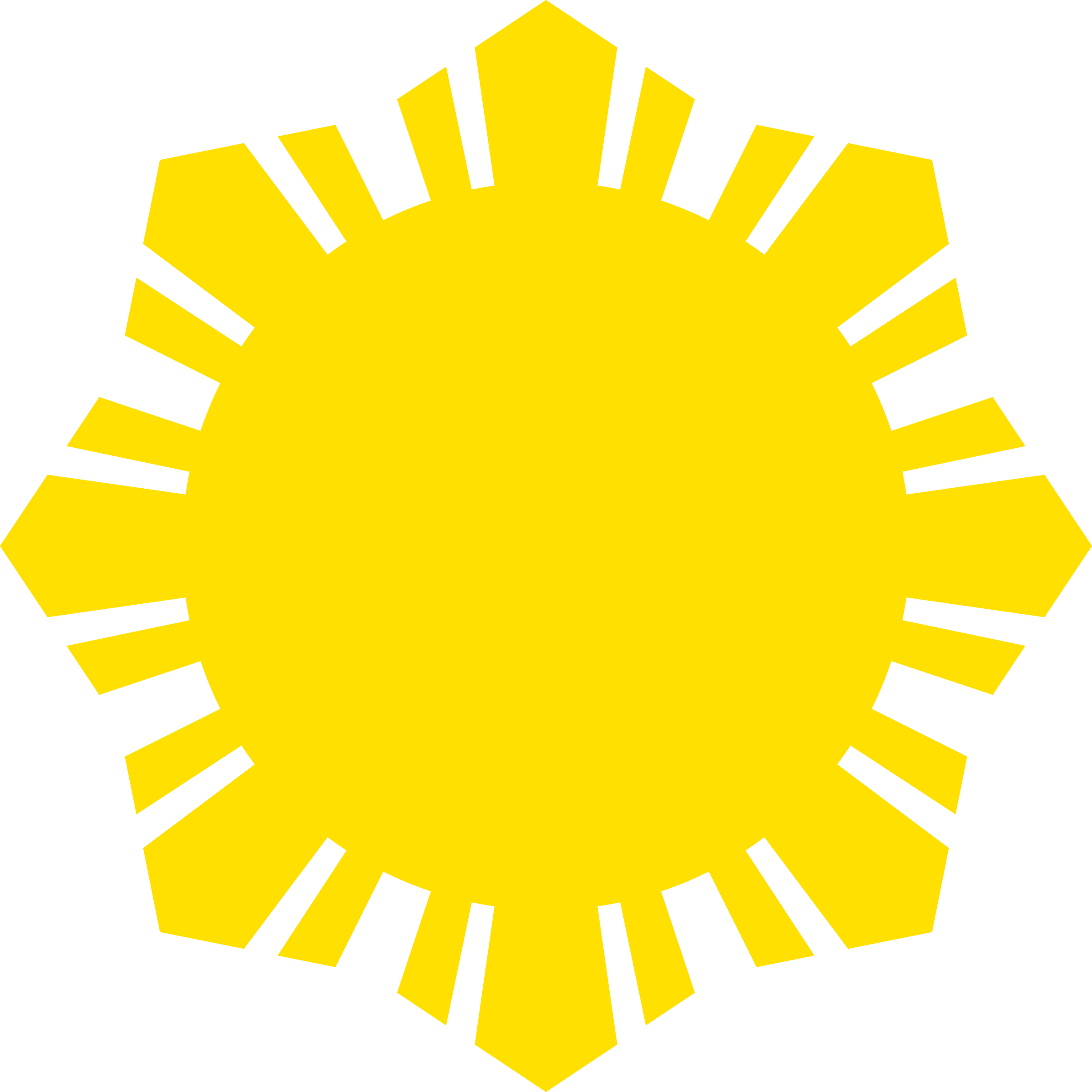Philippines sun clipart free Clipart - Sun Symbol Small Yellow free