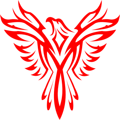 Phoenix logo clipart black and white stock Download PHOENIX Free PNG transparent image and clipart black and white stock