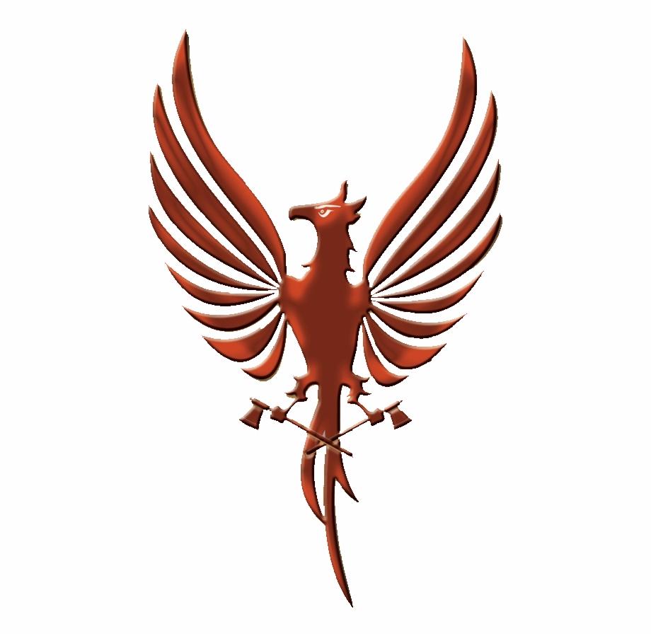 Phoenix logo clipart png library download Phoenix Bird Transparent Background Clipart , Png Download ... png library download