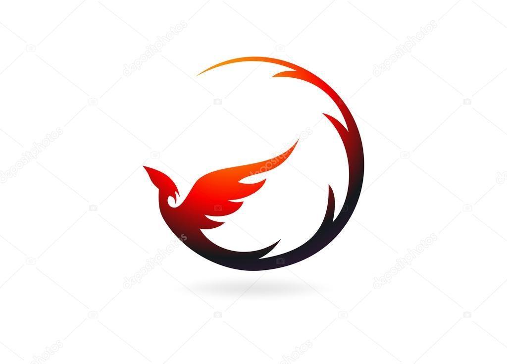 Phoenix rising clipart svg download Phoenix logo design symbol vector | Tattoos | Feniks tattoo ... svg download
