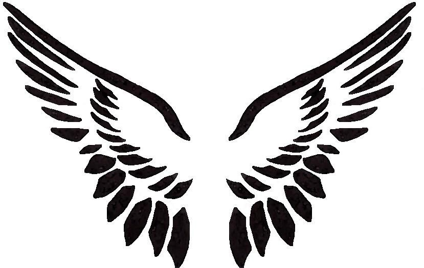 Wings logo clipart picture library library Angel Wings Logo - ClipArt Best   Tattoos   Angel wings ... picture library library