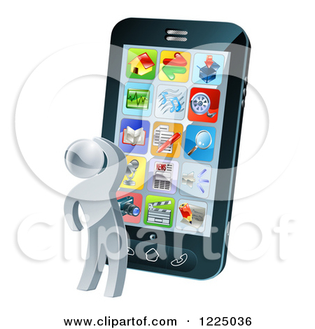 Phone app clipart clip art freeuse download Royalty-Free (RF) App Clipart, Illustrations, Vector Graphics #1 clip art freeuse download
