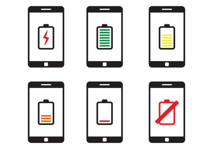 Phone battery clipart graphic black and white download Phone Battery Icon - Download Free Vectors, Clipart Graphics ... graphic black and white download