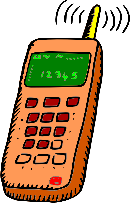 Phone book clipart clipart free library Mobile Phone Clipart at GetDrawings.com   Free for personal use ... clipart free library
