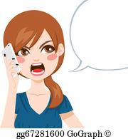 Phone calling clipart clip art transparent Phone Call Clip Art - Royalty Free - GoGraph clip art transparent