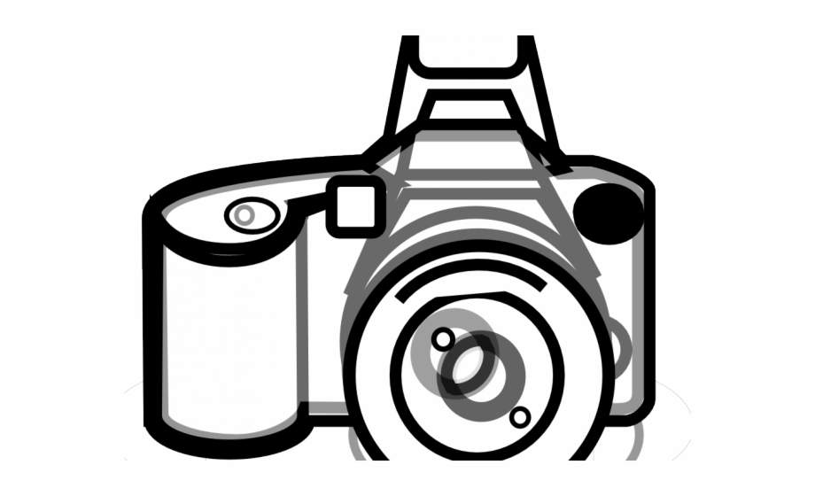 Phone camera clipart graphic black and white Photo Camera Clipart Phone Camera - Retro Black And White ... graphic black and white