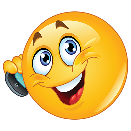 Phone emoji clipart picture royalty free library On a Call | FaceBook-Symbols-Emoticons | Smiley emoji ... picture royalty free library