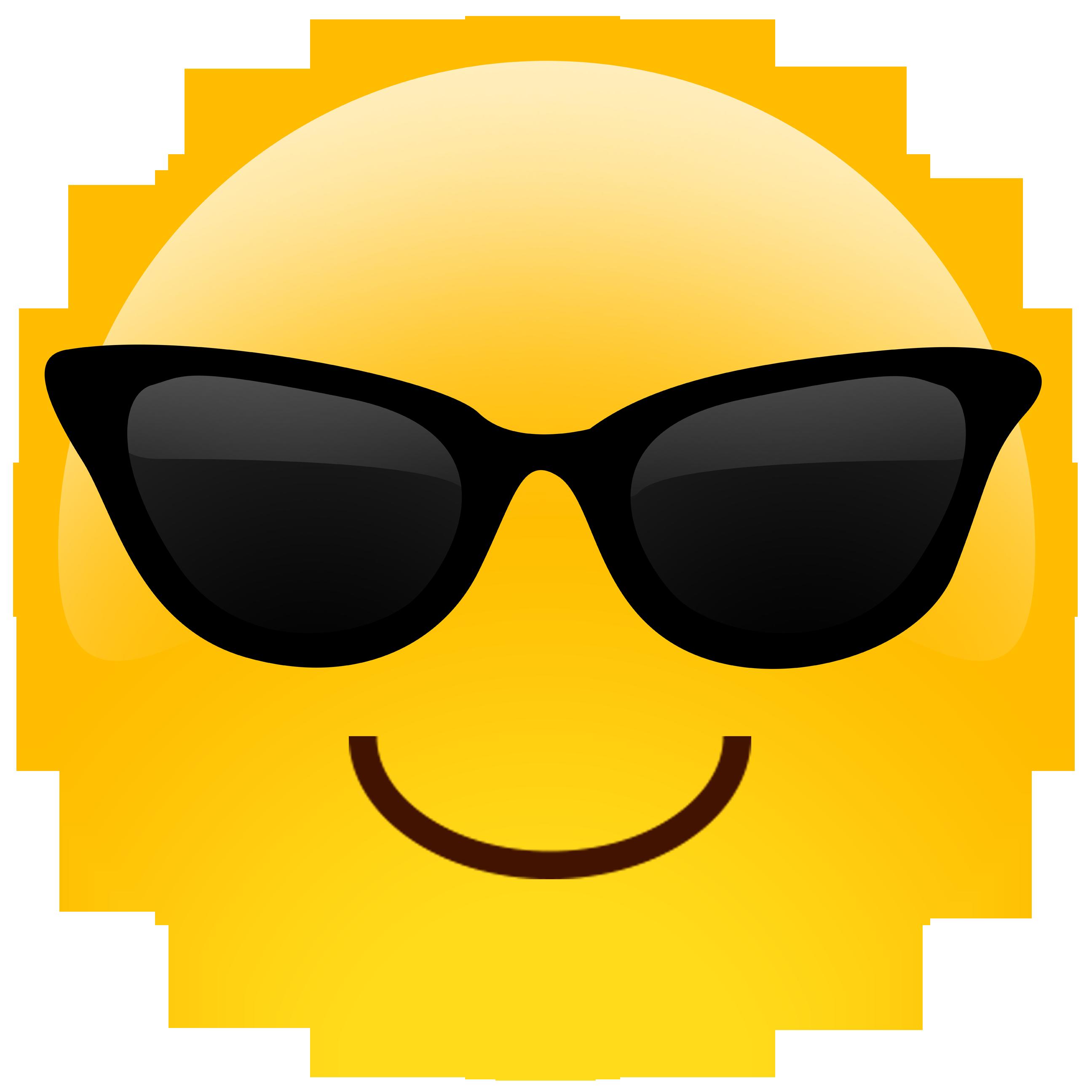 Phone emoji clipart clip Sunglasses Emoji Clipart & Look At Clip Art Images - ClipartLook clip