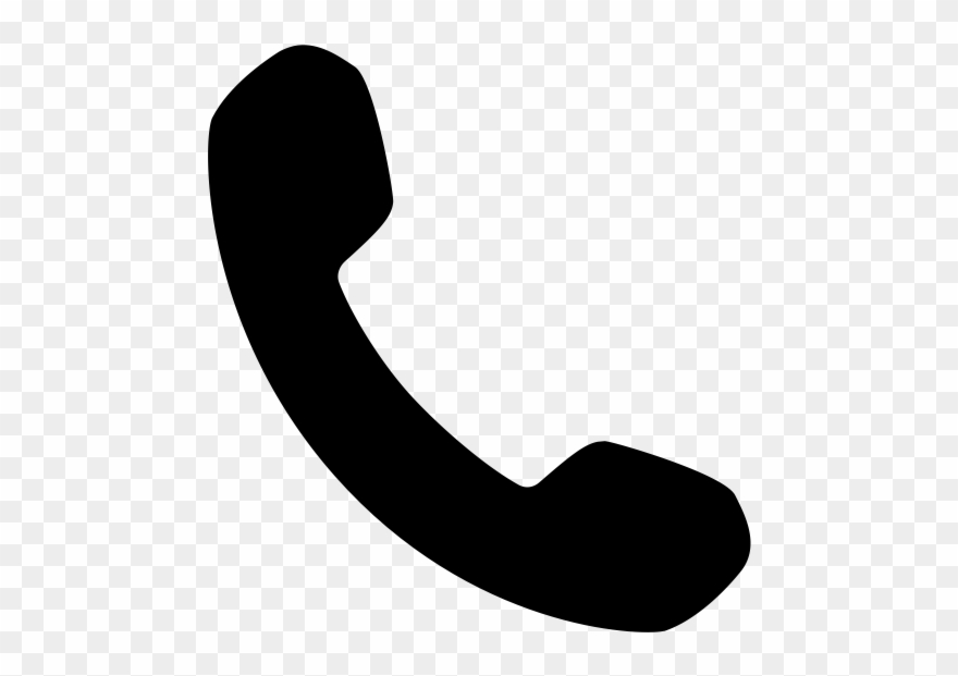 Telephone icon cliparts clipart royalty free download Clipart Of Phone Handset - Phone Icon Svg - Png Download ... clipart royalty free download