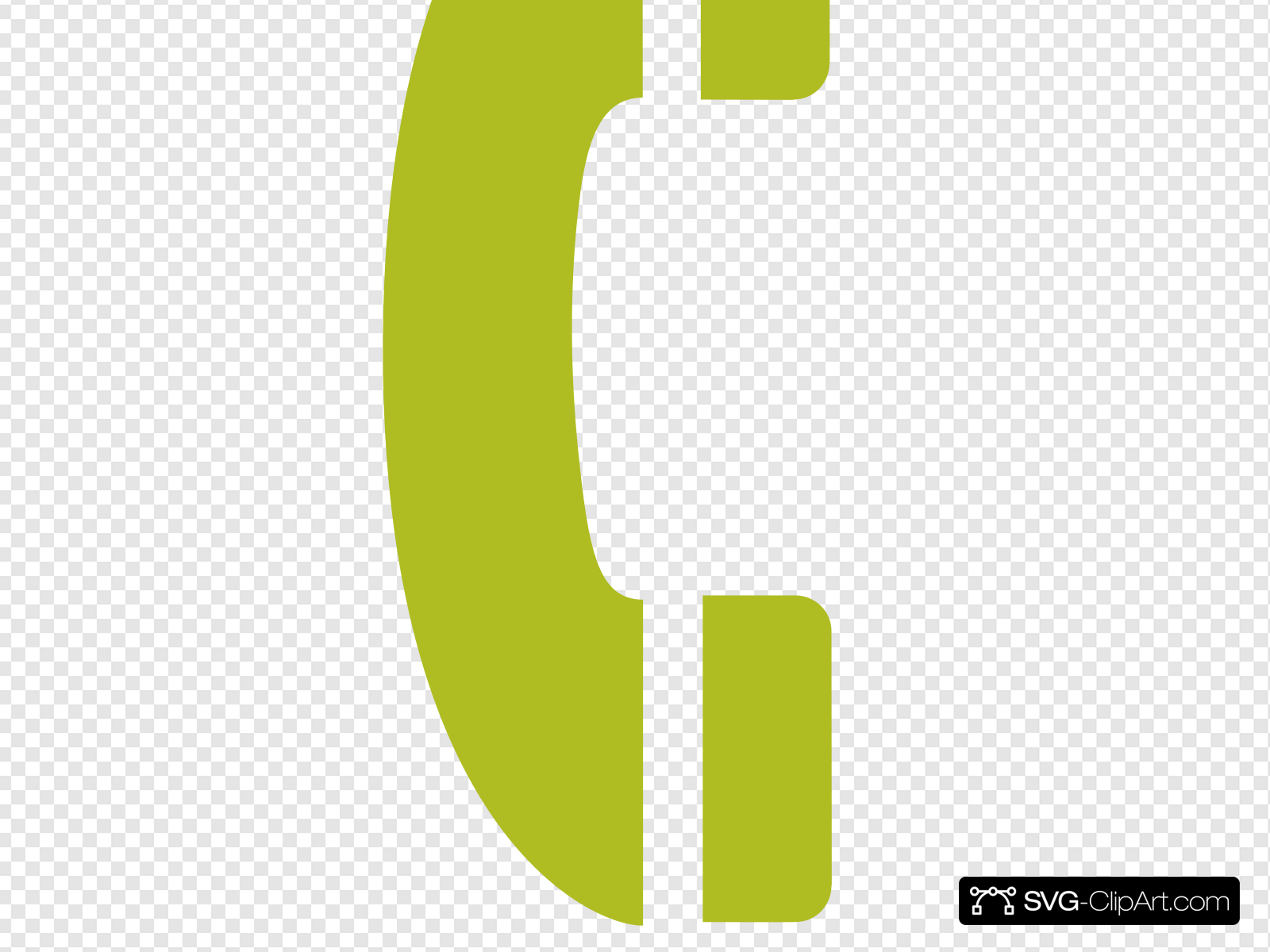 Phone handset clipart banner royalty free Telephone Handset Clip art, Icon and SVG - SVG Clipart banner royalty free