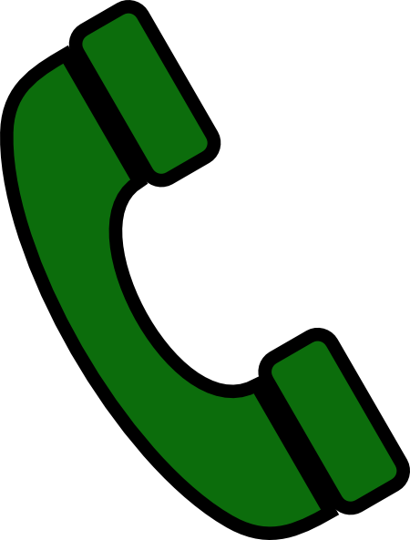 Phone icon clipart green graphic freeuse download Phone Icon Clip Art at Clker.com - vector clip art online ... graphic freeuse download