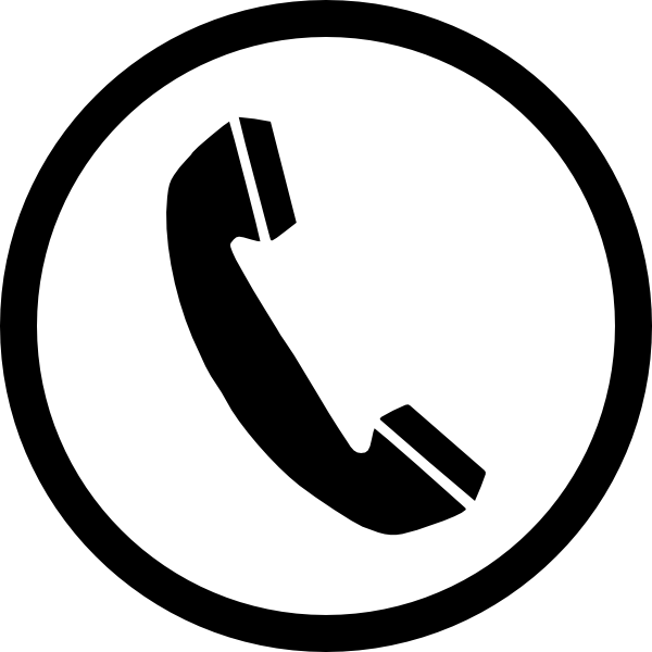 Phone icon images clipart graphic black and white stock Phone icon clipart 3 » Clipart Portal graphic black and white stock