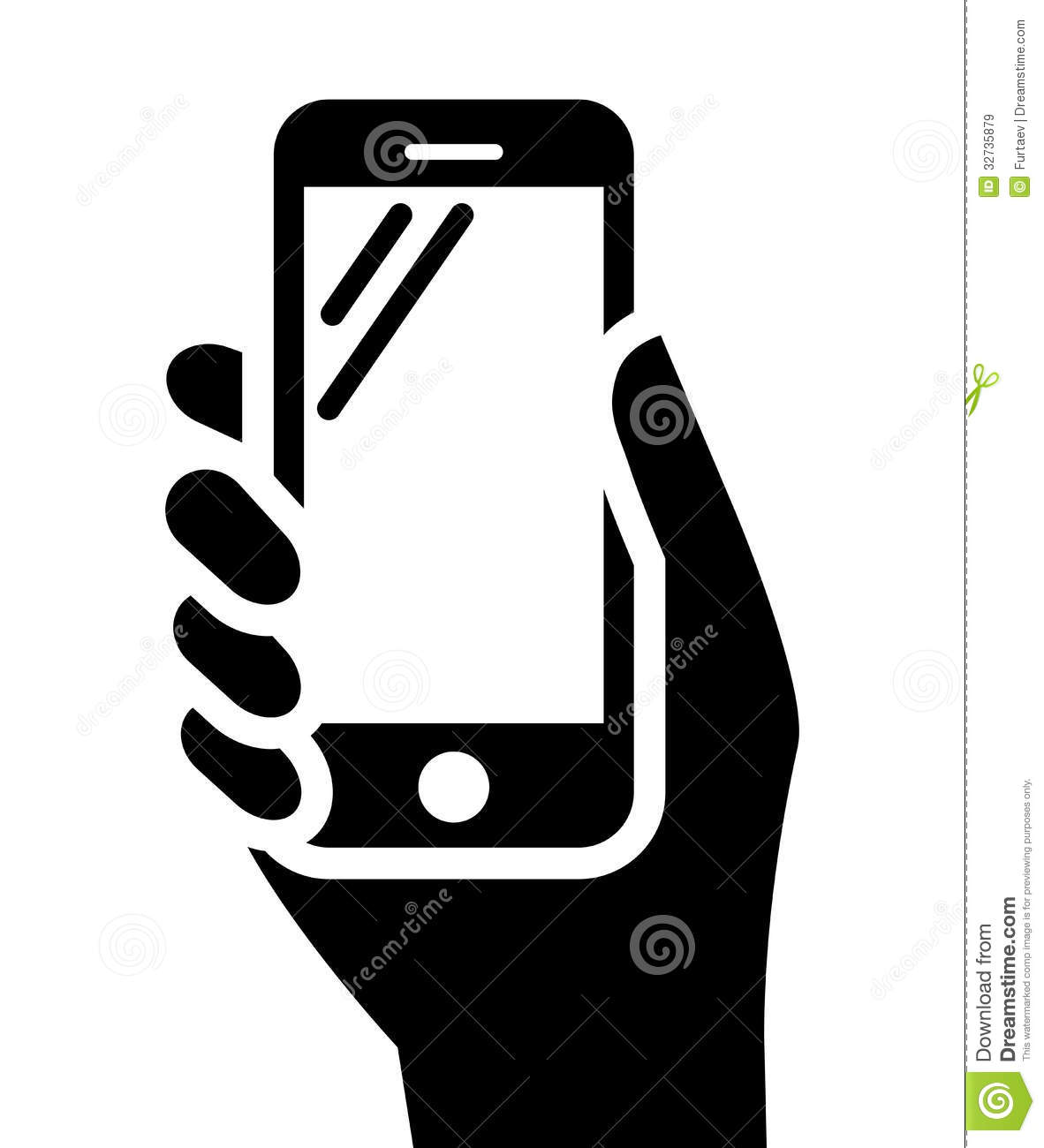 Phone in hand clipart png library download Phone in hand sign | Clipart Panda - Free Clipart Images png library download