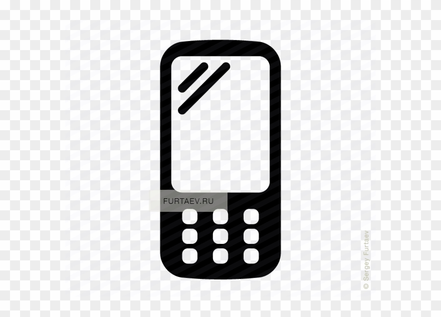 Phone vector icon clipart graphic free stock Mobile Phone Icons Vector Clipart Computer Icons Clip ... graphic free stock