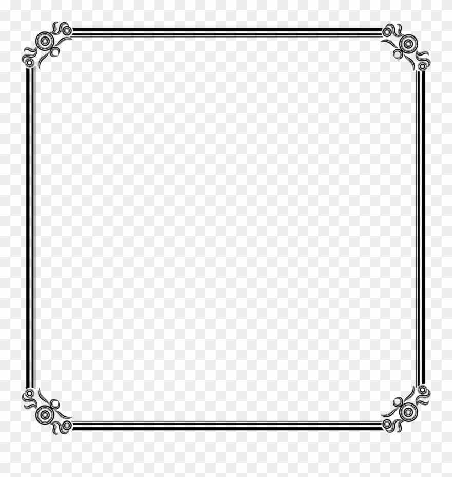 Photo background frame clipart clip free stock Background Frame Border Png Image - Picture Frame Clipart ... clip free stock