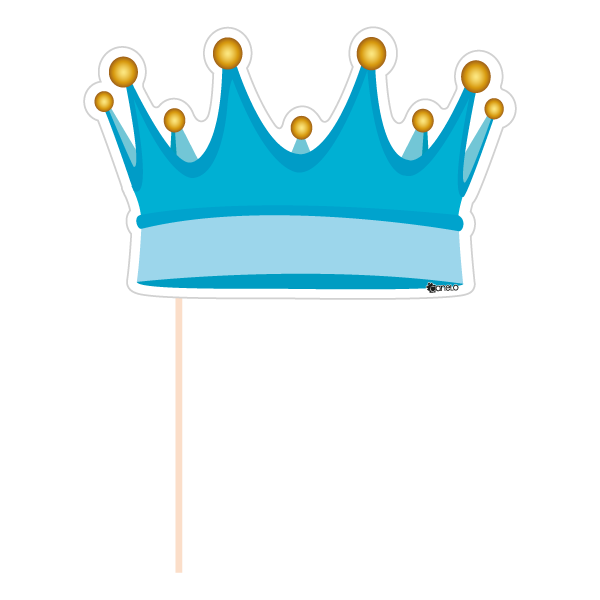 Photo booth clipart crown jpg transparent stock Party Photobooth Props figure Blue Crown jpg transparent stock