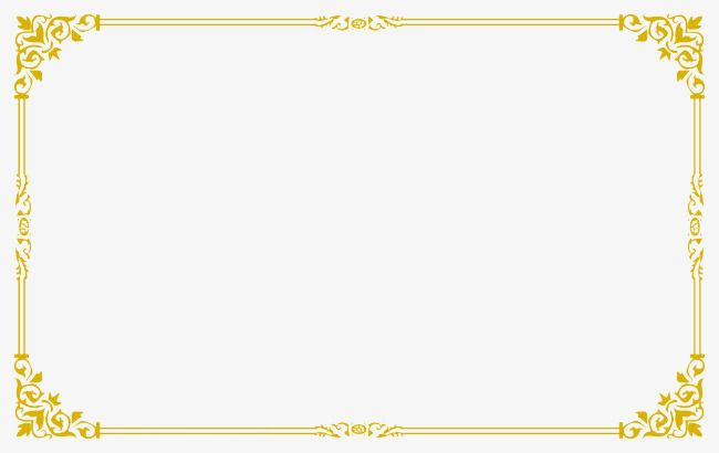 Photo booth template clipart picture transparent Gold Frame, Frame Clipart, Golden, Frame PNG Transparent ... picture transparent