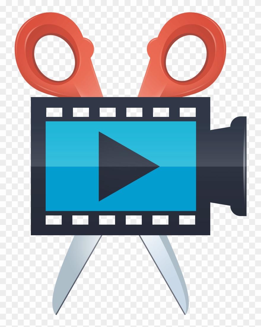 Video clipart logo jpg black and white Movavi Screen Capture Studio - Movavi Video Editor Logo ... jpg black and white