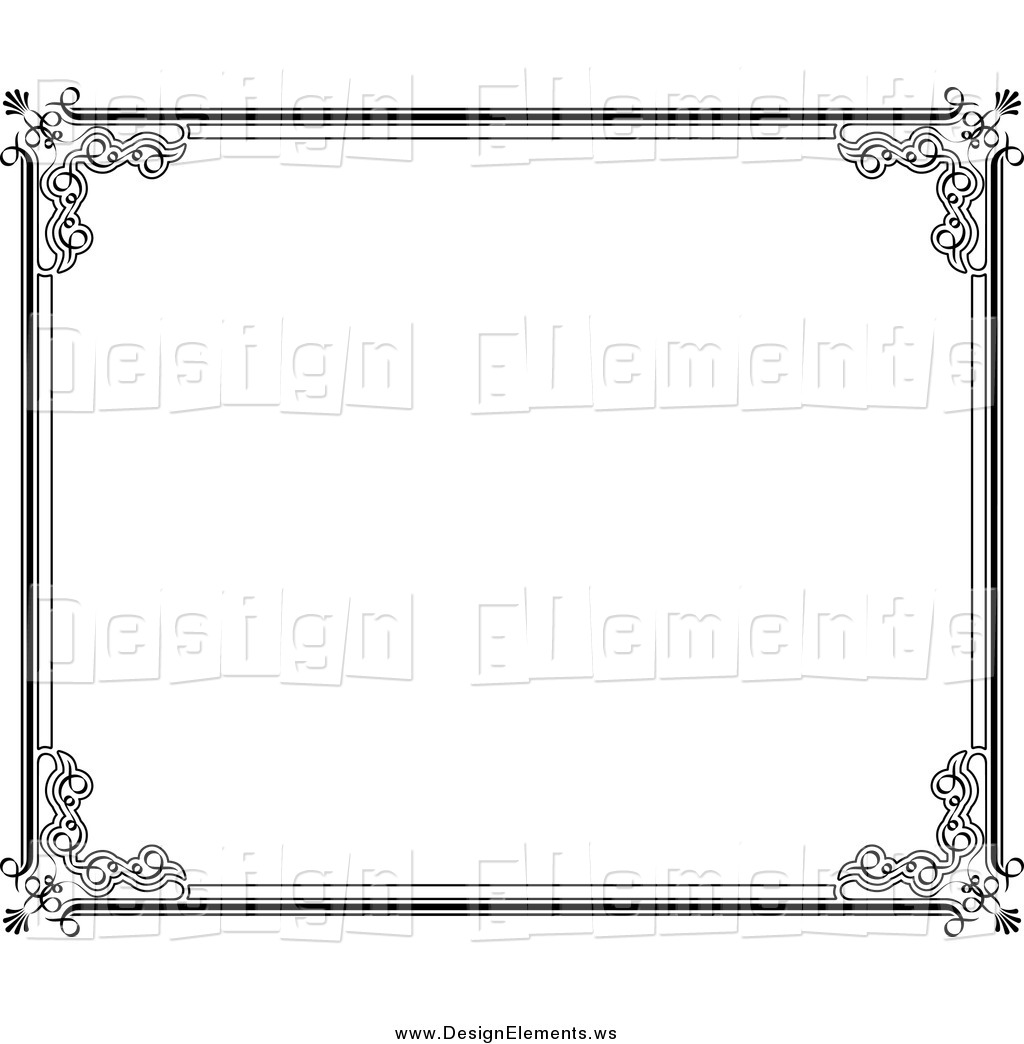 Photo frame border design clipart download Free Border Design Black And White, Download Free Clip Art ... download