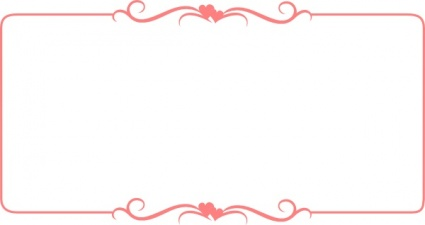 Photo frame clipart with hearts png free library Clipart border frame - ClipartFest png free library