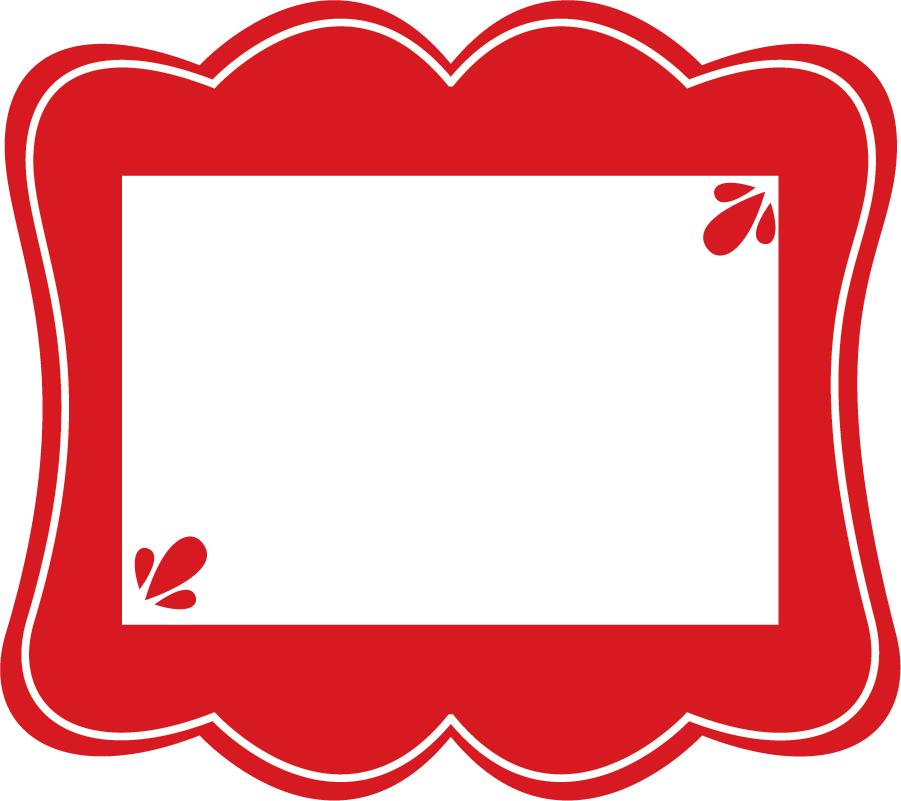 Photo frame clipart with hearts graphic library Clipart Picture Frames & Picture Frames Clip Art Images ... graphic library